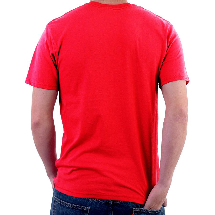 Enharid Round Neck T-Shirt For Men, Red – Enharid