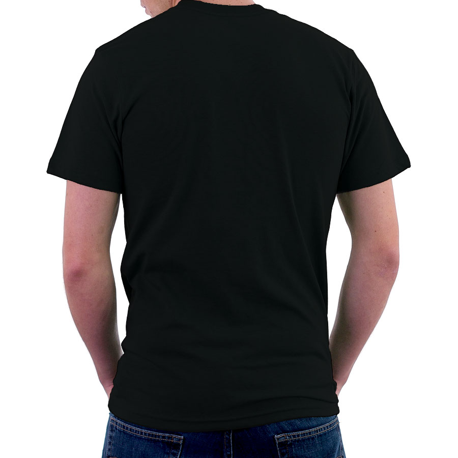 ENHARID ROUND NECK T-SHIRT FOR MEN, BLACK – Enharid